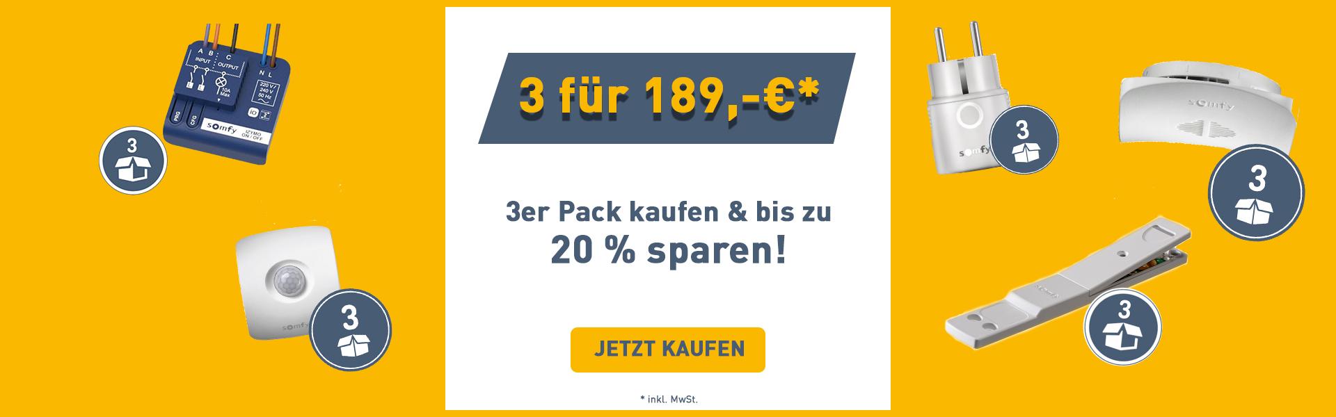 3er Pack kaufen & 20% sparen!