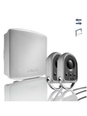 Somfy® Funkset io zur Nachrüstung für alle Torantriebe inkl. 2 Handsender