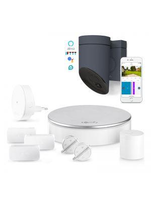 Home Alarm Video inkl. Außenkamera Grau